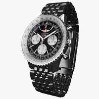 breitling navitimer 01 modeled 3d max
