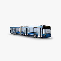 city bus 3d max
