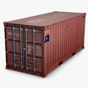 industrial container 3D models