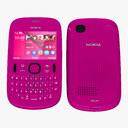 Nokia Asha 3D models