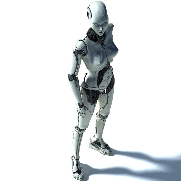 female cyborg elettra 3d max - Elettra Cyborg Female... by FraP