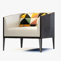 okti armchair 3d max