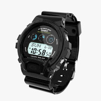 casio g-shock gw-6900 3d model