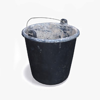 maya old plastic bucket
