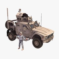 MATV Military Vehicle