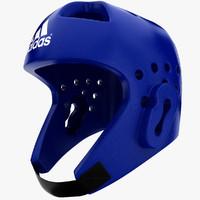 adidas taekwondo helmet 3d max