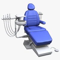 3d model dental chair