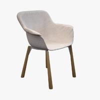 3d lavehnam executive chair - model