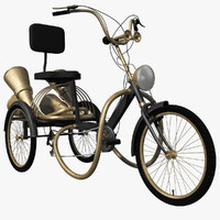 Steampunk Tricycle