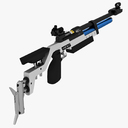 air rifle 3D models