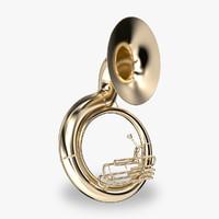 maya tuba brass
