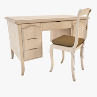 Desk and Chair - Vittorio Grifoni