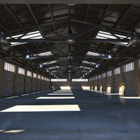 Old Warehouse Interior