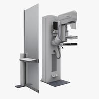 3d model mammography siemens mammomat nova