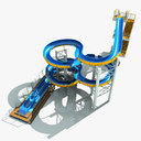 water park 3D models