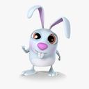 cartoon rabbit 3D models