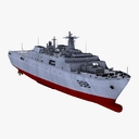 landing craft 3D models