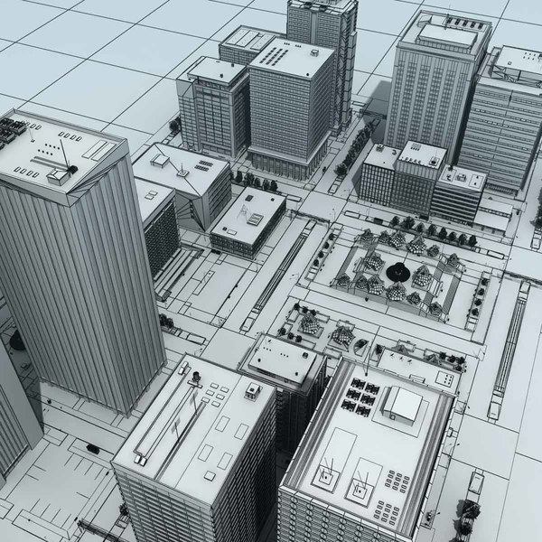 city cityscape 3d max - City Cityscape HD... by 3D_Multimedia