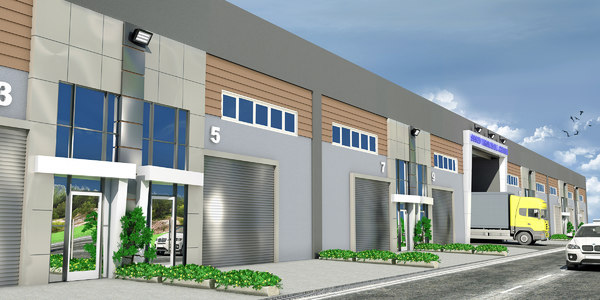 fbx modern wholesale trade center