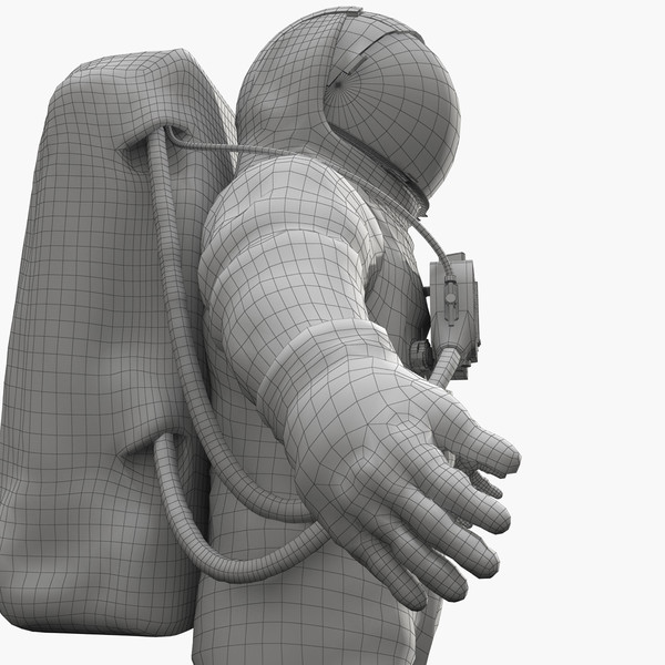 3d astronaut space suit model - Astronaut Suit... by radoxist