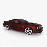 shelby sports vehicle 3d max