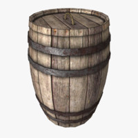 wood barrel max