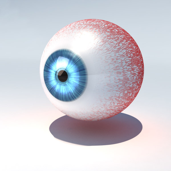 3d model of human eye animate - - Human Eye - Animated... by Alef itd