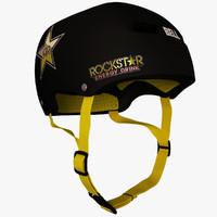 bell helmet 3d max