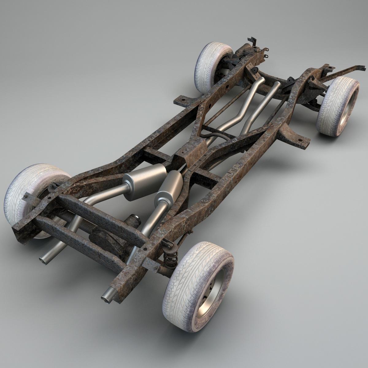 Race Car Undercarrage