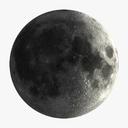 Moon 3D models