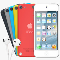 3d new apple ipod touch