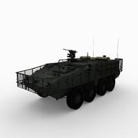 Stryker M1126 - Slat Armor
