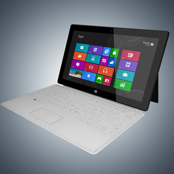 maya microsoft surface - Microsoft Surface... by RicardoAfonso