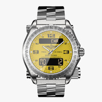 Breitling Emergency Yellow-virtual 3d model