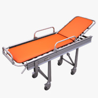 Steel Framed Hospital Bed