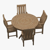 garden furniture set chair table max