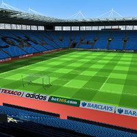 ricoh arena stadium 3d max