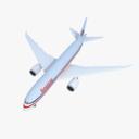 Boeing 787 3D models