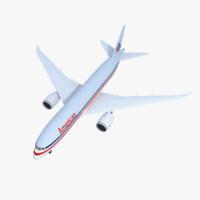 Boeing 787 Dreamliner Jet