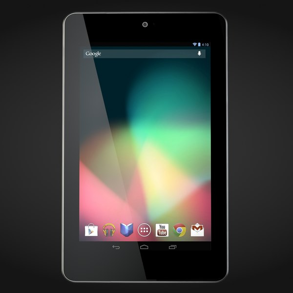 3d model google nexus 7 tablet - Google Nexus 7... by 811