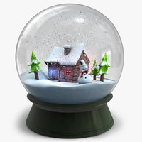 cinema4d snow globe version