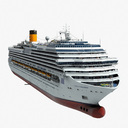 cruise ship 3D models