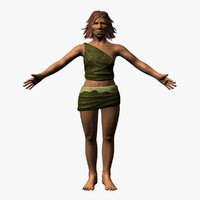 maya neanderthal woman