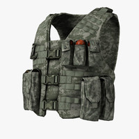 Bullet-Proof Vest & Cartridge Pouch