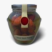 3dsmax salami oil jar