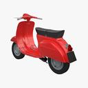 motor scooter 3D models