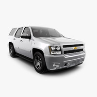 3d model chevrolet tahoe