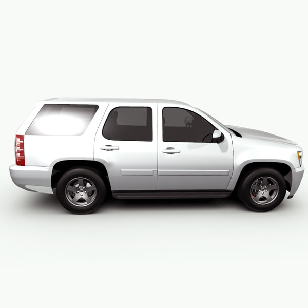 3d model chevrolet tahoe. Black Bedroom Furniture Sets. Home Design Ideas