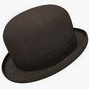 bowler hat 3D models