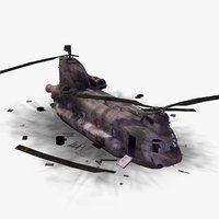 CH47 Chinook Crashed